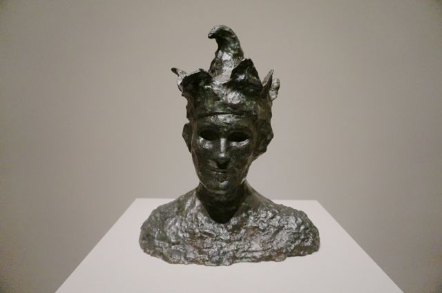 Picasso's bronze Jester