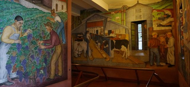 Coit Tower murals