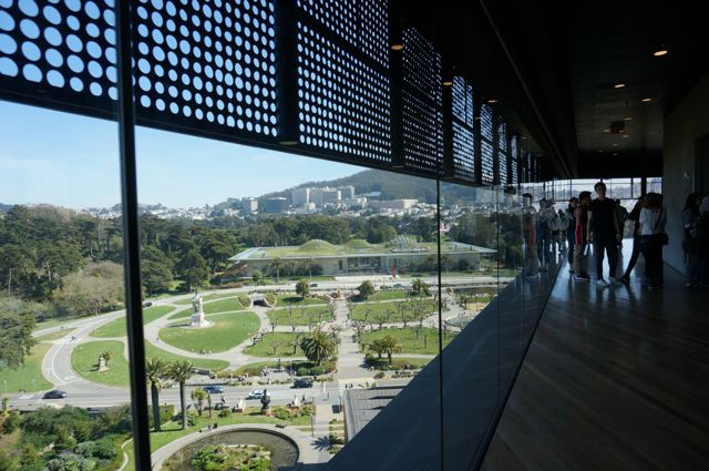 View from the de Young tower