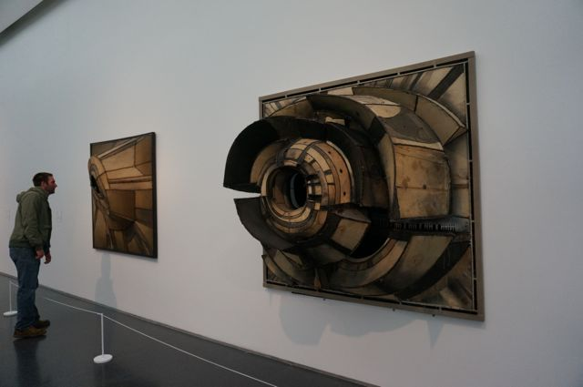 Sculptural paintings by Lee Bontecou
