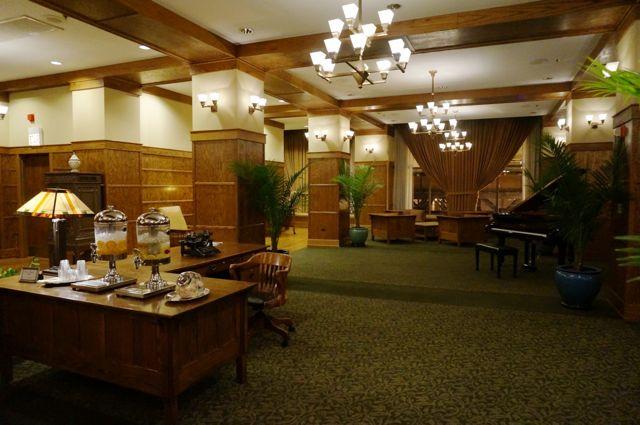 Lobby of the Silversmith Hotel