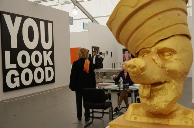 Inside the Frieze art fair