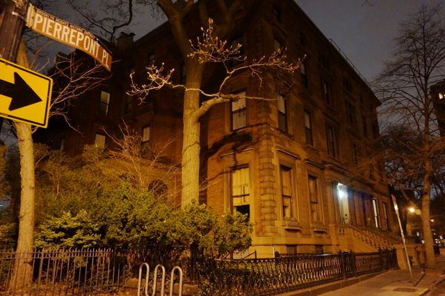The late Gregory Peck's House in Brooklyn Heights