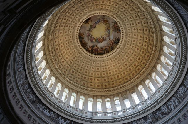 The stunning Rotunda dome