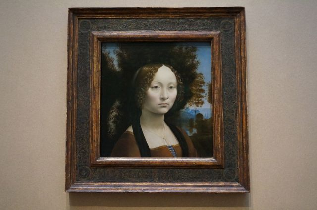 The da Vinci portrait