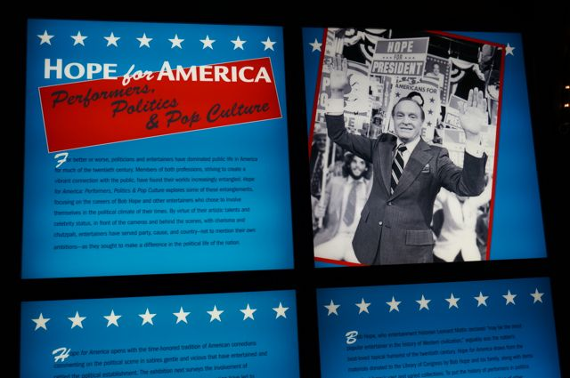 Hope for President exhibition