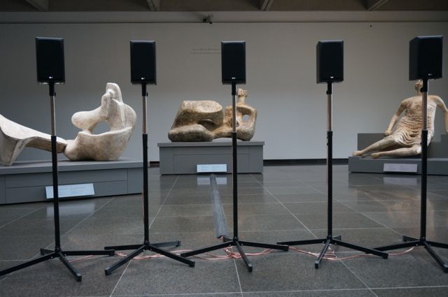 Cardiff's Motet in the Henry Moore gallery