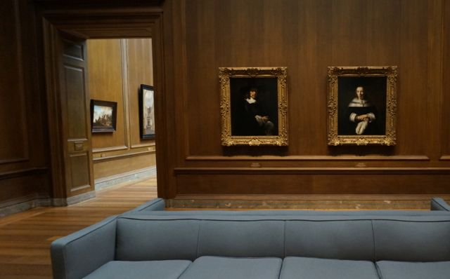 The Rembrandt room
