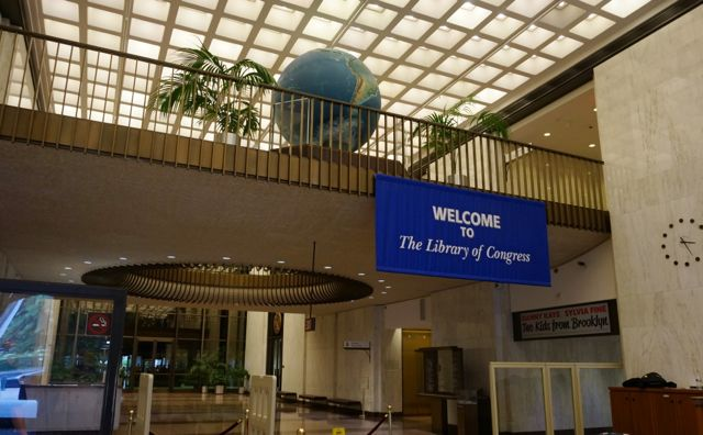 Entrance foyer of the Madison Building