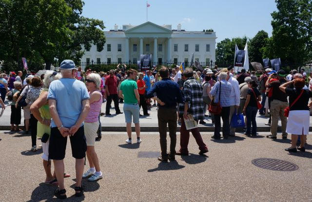 White House Protest 0
