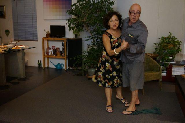 Kathy and Jeff dancing