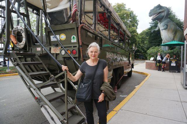I go on a Boston Duck tour