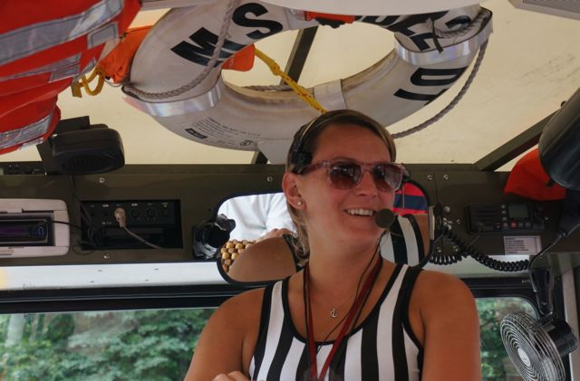 The Duck Tour guide