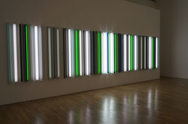 Robert Irwin's fluroescent tube work