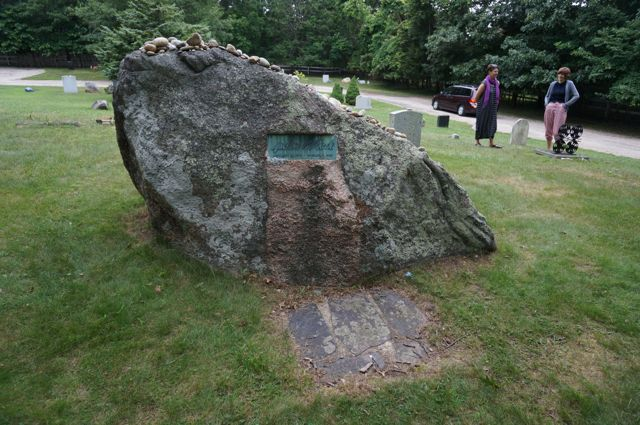 Pollock's grave