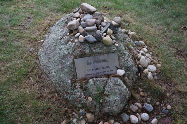 Krasner's grave