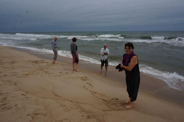 The beach at South Hampton