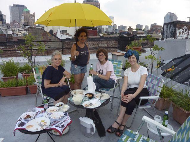 Roof dinner 2