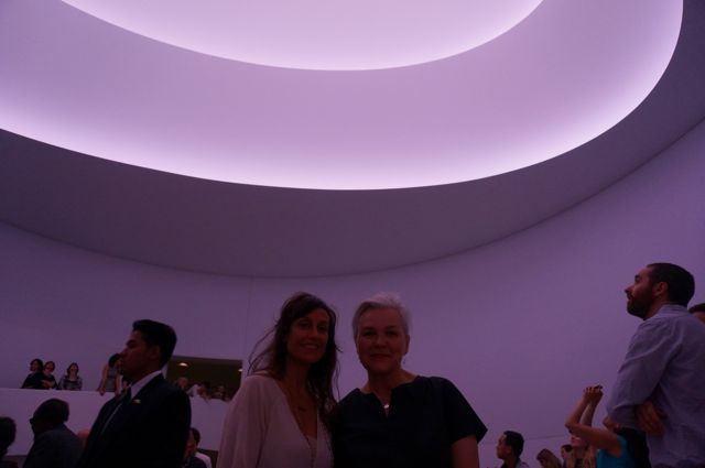Turrell with Daphane