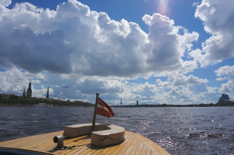 On the Daugava river