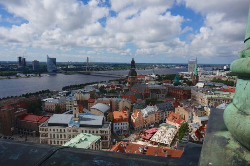 Riga from St Peters