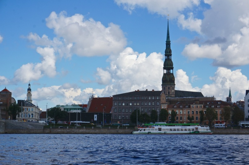 Riga from the Daugava river