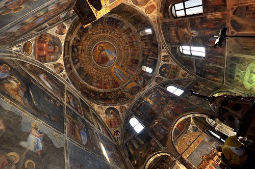 The stunning frescoes inside the Padua Cathedral (image sourced from: http://www.panoramio.com/photo/88711857)