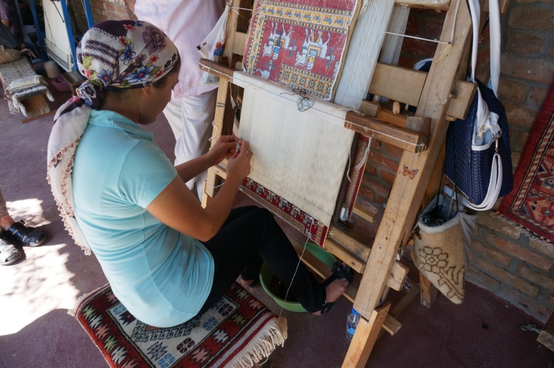 Carpet weaving 2